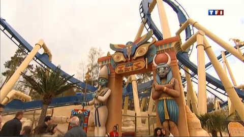 Oziris, la nouvelle attraction star du parc Astérix