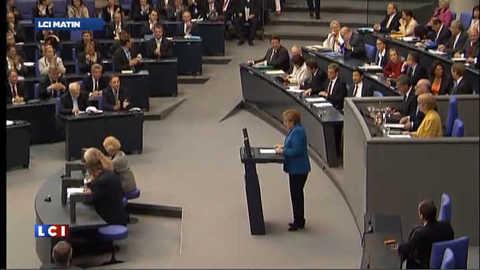Pacte budgétaire : l'Allemagne unie derrière Angela Merkel