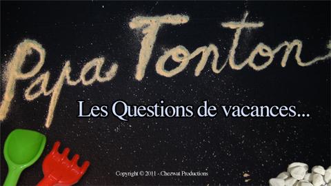 PAPA TONTON : Les aveugels ?