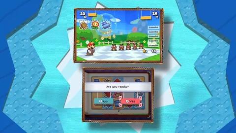 Paper Mario Sticker Start - Trailer E3 2012