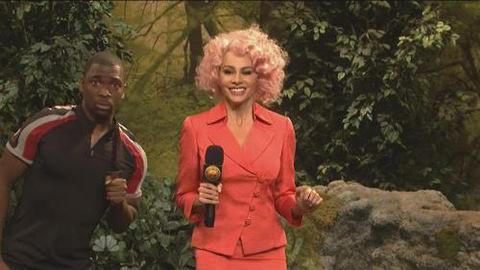 Parodie d'Hunger Games dans Saturday Night Live : The Funger Games