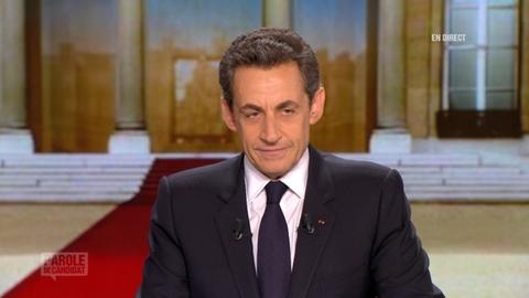 Parole de candidat avec Nicolas Sarkozy