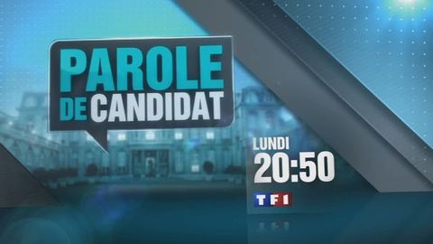 Parole de candidat - LUNDI 20 FÉVRIER 2012 20:50