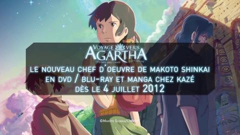 Partez en Voyage vers Agartha avec Makoto SHINKAI à Japan Expo