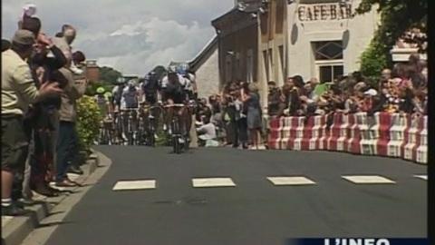 Passage du Tour de France à Saint-Pierre-du-Lorouër