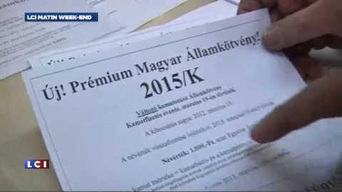 Passeport hongrois contre morceau de dette