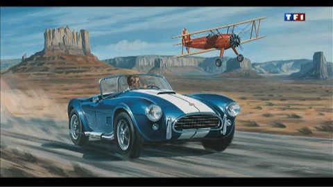 """Le peintre qui """"croque"""" les belles autos"""