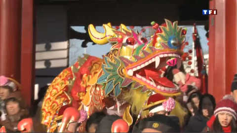 Pékin fait une entrée en fanfare dans l'année du dragon
