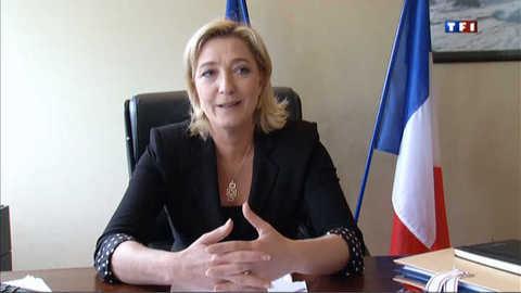 """Le Pen : """"ces deux siamois idéologiques"""""""