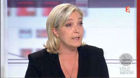 """Le Pen : """"Merah n'est pas un loup solitaire"""""""