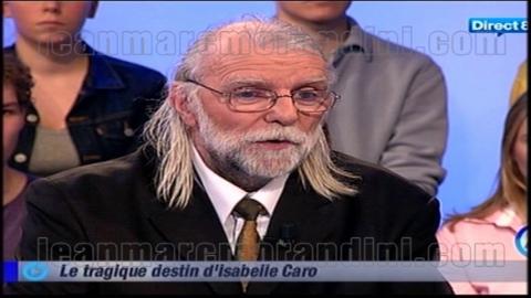 Le père d'Isabelle Caro s'exprime...