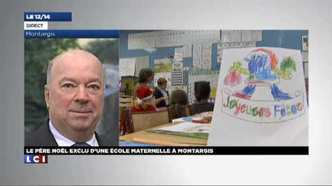 Père Noël boycotté dans une école : la colère du maire de Montargis