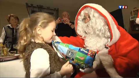Le Père Noël a fait des heureux en Gironde