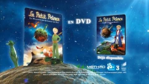 Le Petit Prince et la Planète de l'oiseau de feu en DVD