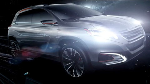 Peugeot Urban Crossover Concept : présentation