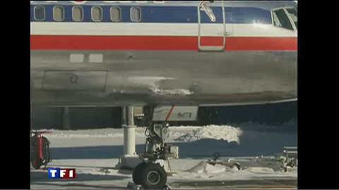 Peur sur le vol New-York-Paris