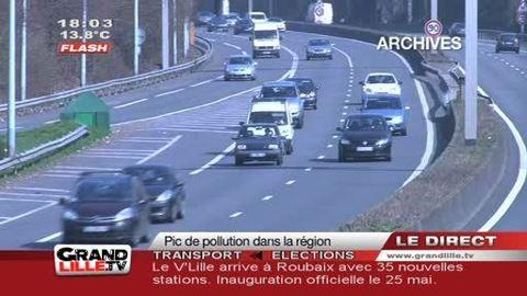 Pic de Pollution à Lille