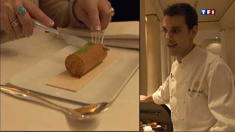 Pier-Marie Le Moigno, chef-patissier expert-ès bûches