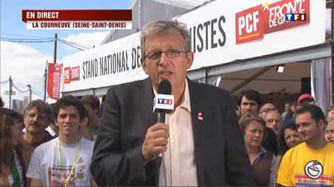 """Pierre Laurent dénonce """"l'engrenage"""" de l'austérité"""