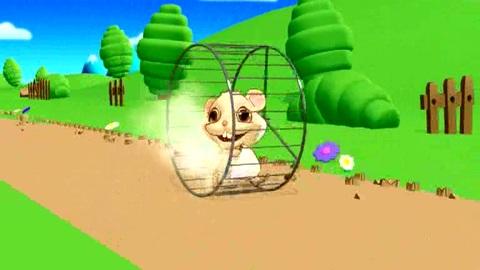 Pilou le Hamster - J'aime courir - Le clip