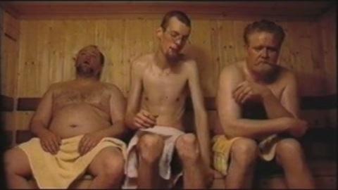 Pissing Icelandic sauna