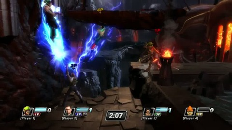 PlayStation All-Stars Battle Royale - Jak and Cole Gameplay 2 - PS3 PS Vita.mp4