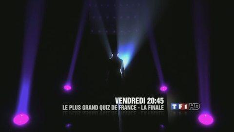 Le plus grand quiz de France - La finale - VENDREDI 4 FÉVRIER 2011 20:45