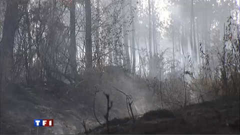 Les pompiers landais face à leur pire feu de l'été