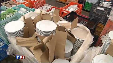 Porcelaine de Limoges vendue au kilo