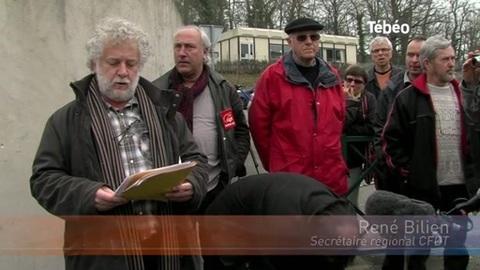 La Poste : Grève et manifestation à Quimper