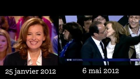Pour Valérie Trierweiler aussi... le changement c'est maintenant!