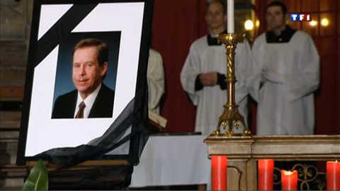Prague : le dernier adieu à Vaclav Havel