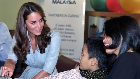 La première apparition de Kate Middleton après le scandale