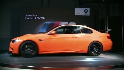 Présentation officielle de la BMW M3 GTS
