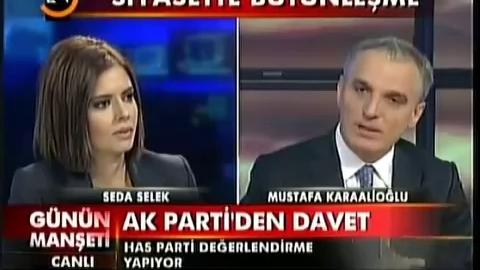 Une présentatrice turque s'évanouit en direct