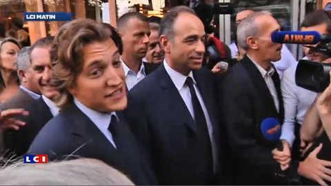 Présidence de l'UMP : Jean Sarkozy s'affiche avec Jean-François Copé