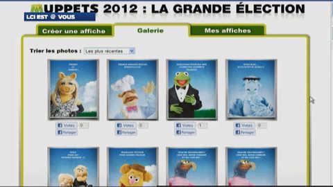 Présidentielle : votez pour votre Muppet préféré