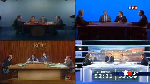 Présidentielle : vous rappelez-vous des précédents débats ?
