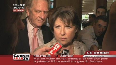 Présidentielles : Martine Aubry se lance dans la bataille !