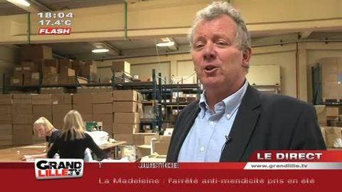 Présidentielles : Les T-Shirts de l'UMP made in Lille !