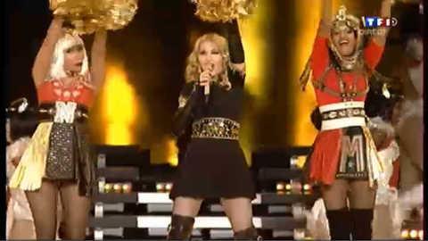 Prestation remarquée de Madonna au Superbowl