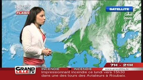 Les Prévisions Météo du 15 mai 2012 (Lille)
