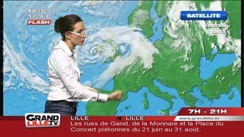 Les Prévisions Météo du 16 juin 2012 (Lille)