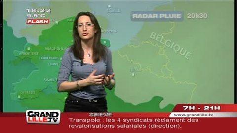 Les Prévisions Météo du 17 avril 2012 (Lille)
