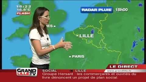 Les Prévisions Météo du 23 mai 2012 (Lille)