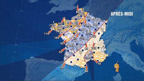 Les prévisions météo du 25 avril 2012