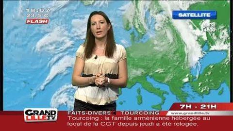 Les Prévisions Météo du 27 juin 2012 (Lille)