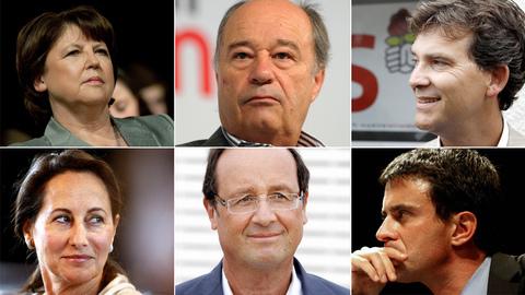 Primaire PS : 6 candidats dans la course