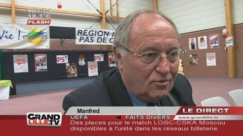 Primaires PS : Des partisans de Hollande chez Martine Aubry (Lille)