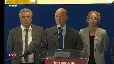 """""""Les prix à la pompe baisseront jusqu'à 6 centimes"""" annonce Pierre Moscovici"""